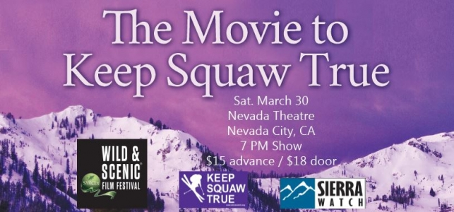 Squaw Valley Nevada Theatre