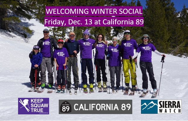 Squaw Valley, Welcoming Winter Social, Truckee CA