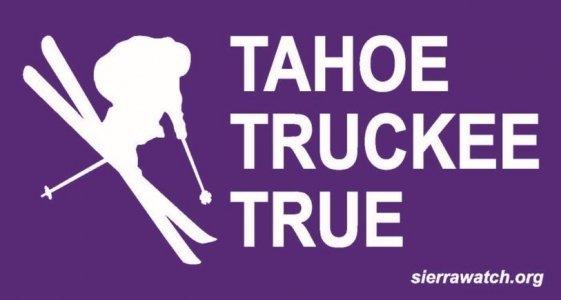 Tahoe Truckee True Skier Logo