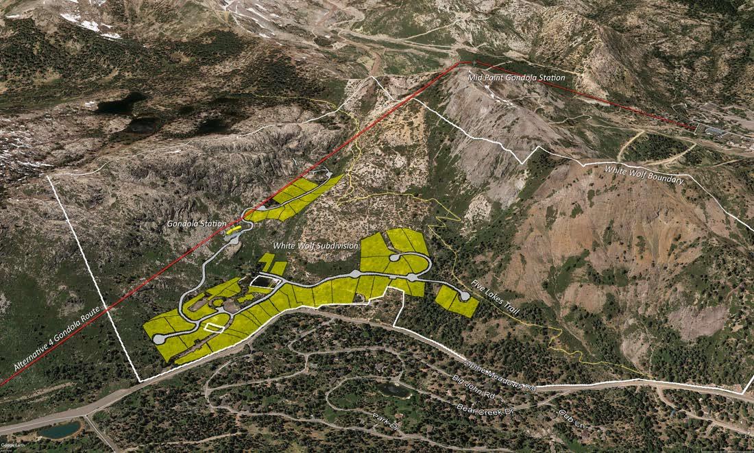 White Wolf development Tahoe