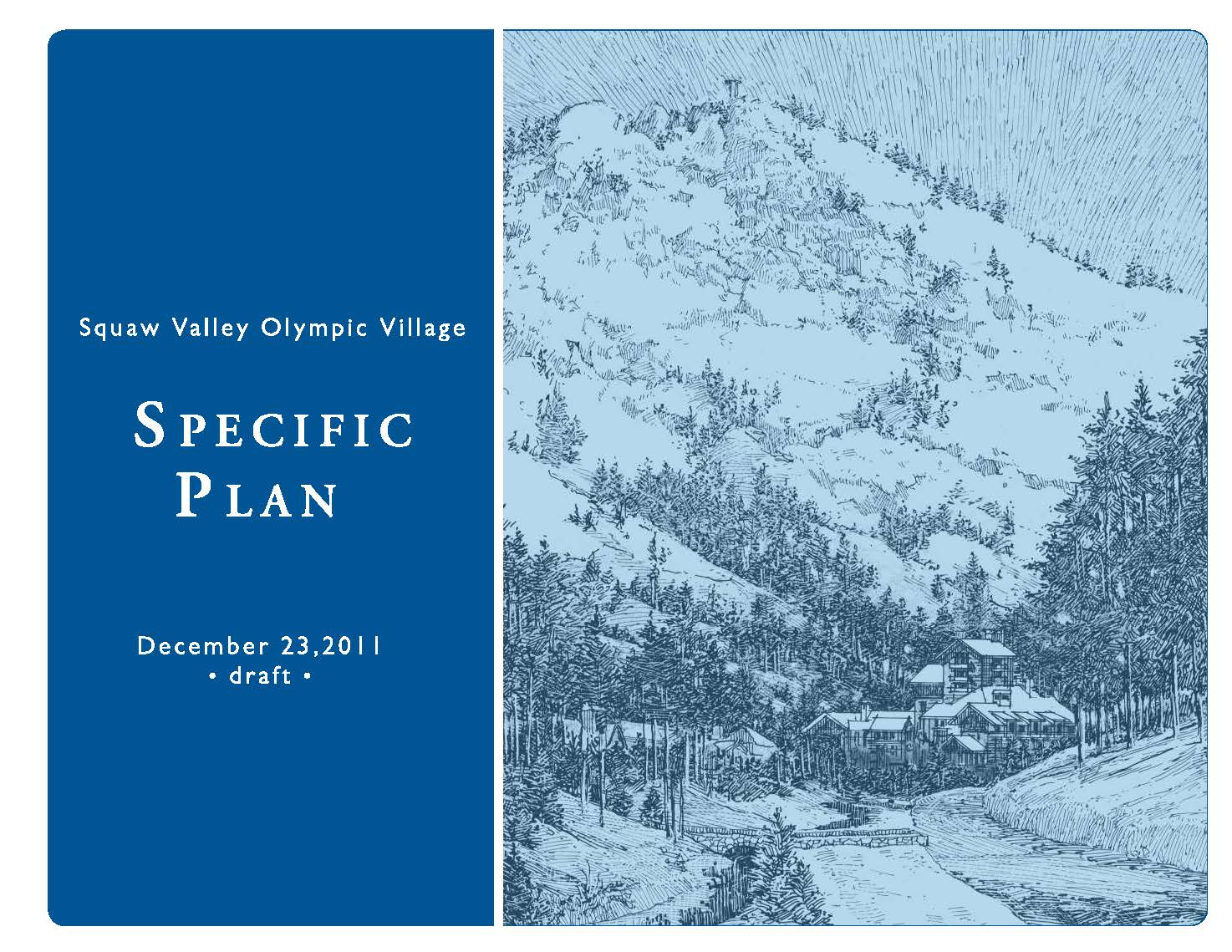 Squaw Valley Olympic Village Specific Plan
