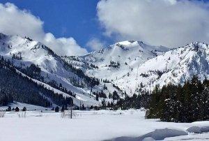 Squaw Valley winter Tahoe Truckee True