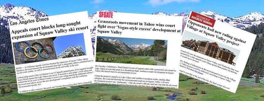 Sierra Watch in the News